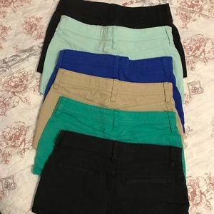 BUNDLE! ; Arizona jean shorts.